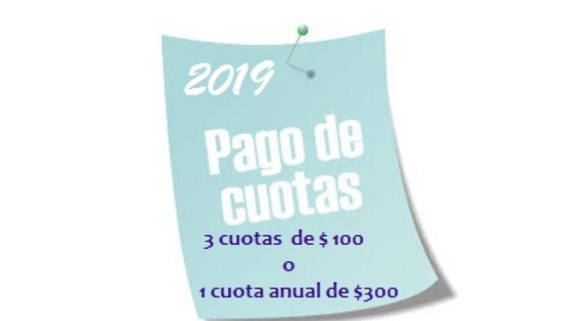 Cuota Social 2019