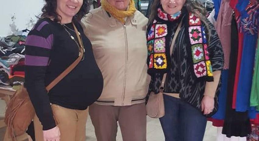 Nos visitaron  miembros de la ONG : Mujeres por Pinamar.